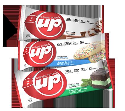 B-Up protein bar sampler pack