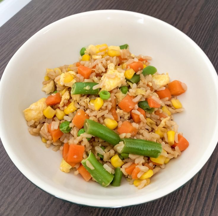Healthier Fried Rice