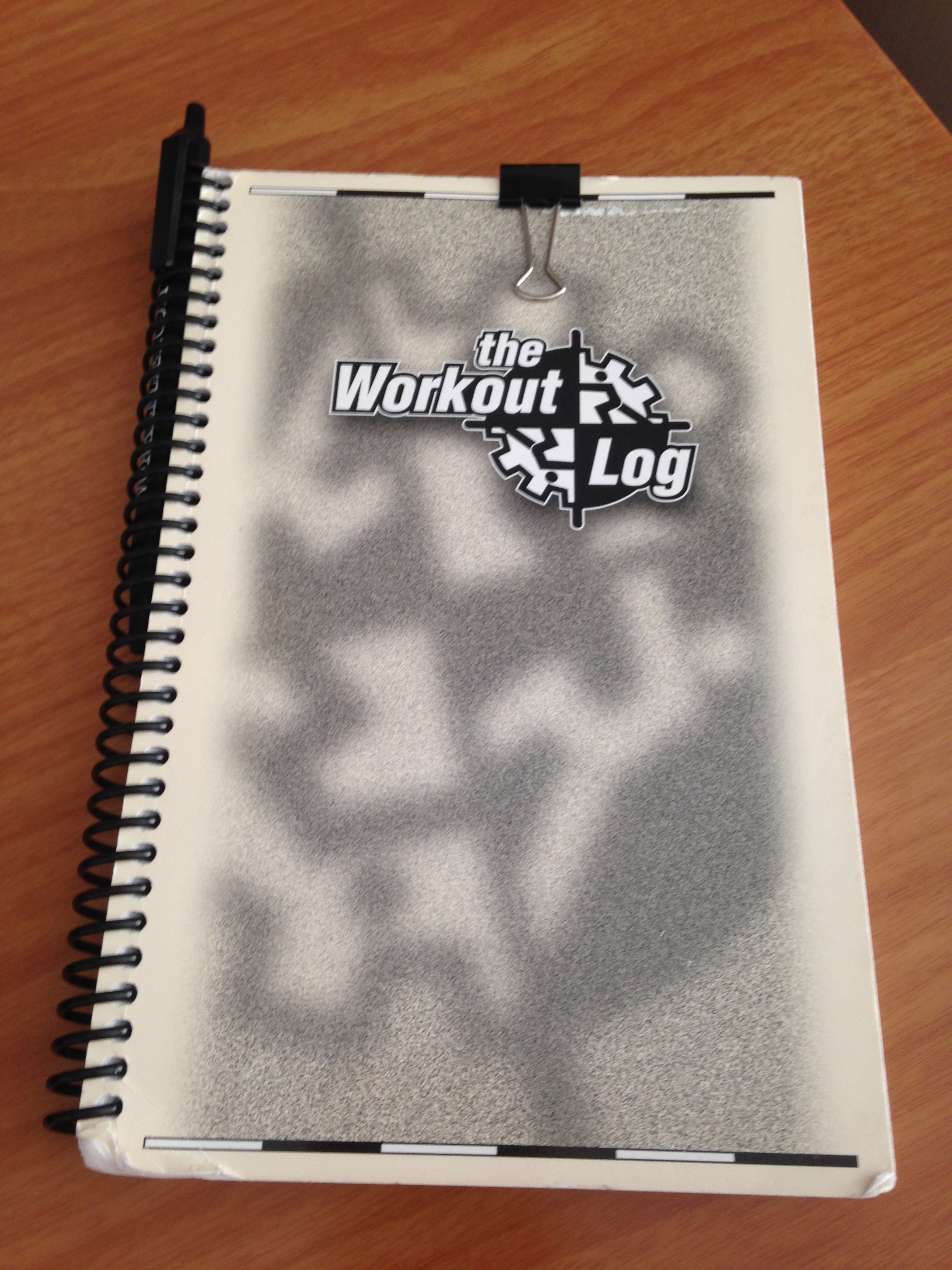 Workout notebook