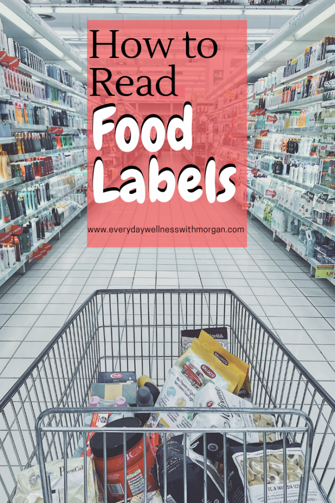 Learn how to read food labels