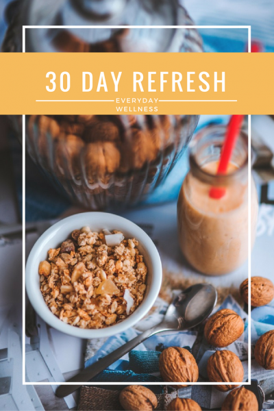 30 Day Refresh online health coaching program