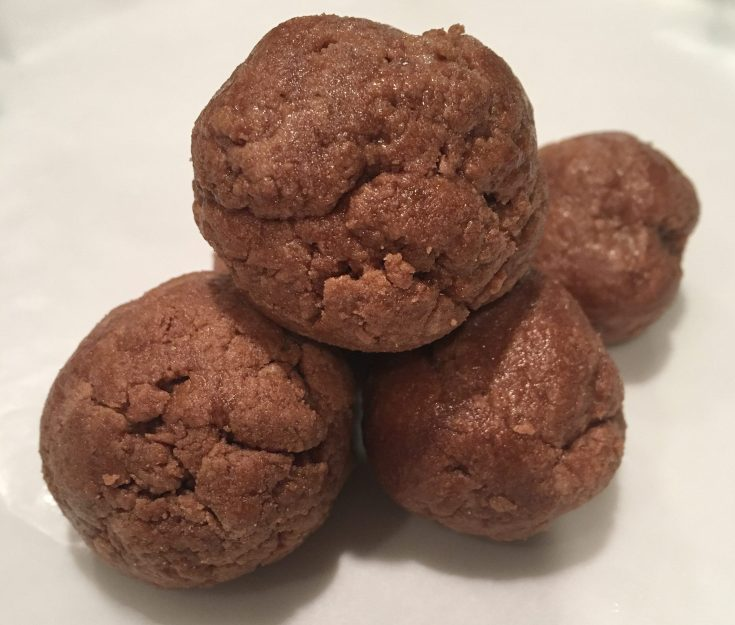 chocolate pb protein ball