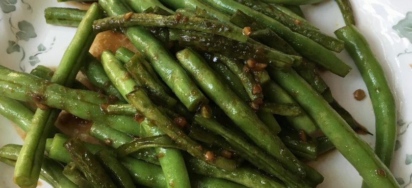 healthy chinese green beans