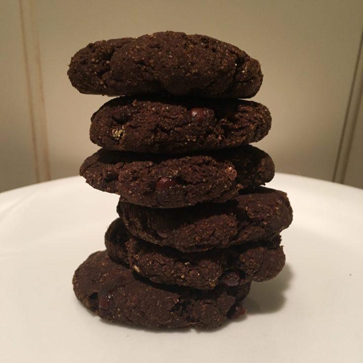 2 Ingredient Healthy Brownie Cookies!