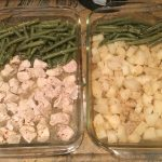 Italian Chicken, Green Beans, and Potatoes – One Pan Meal