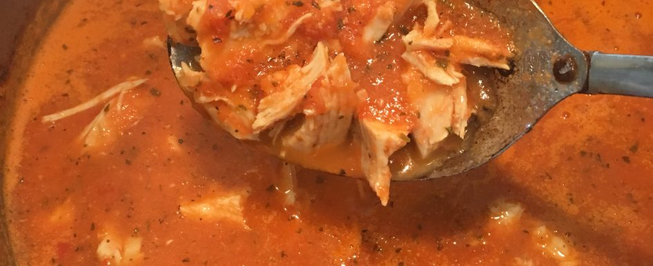 paleo tomato chicken soup