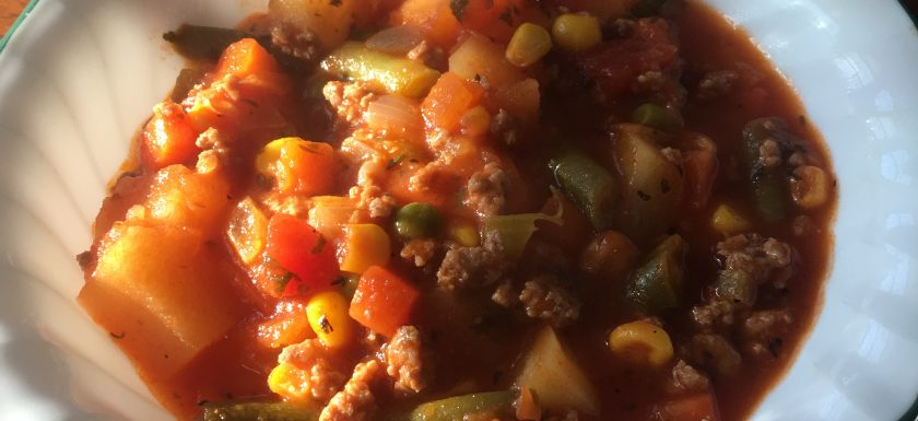 paleo turkey and vegetable soup
