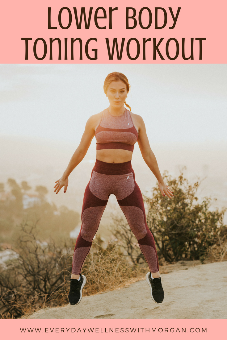 lower body toning workout