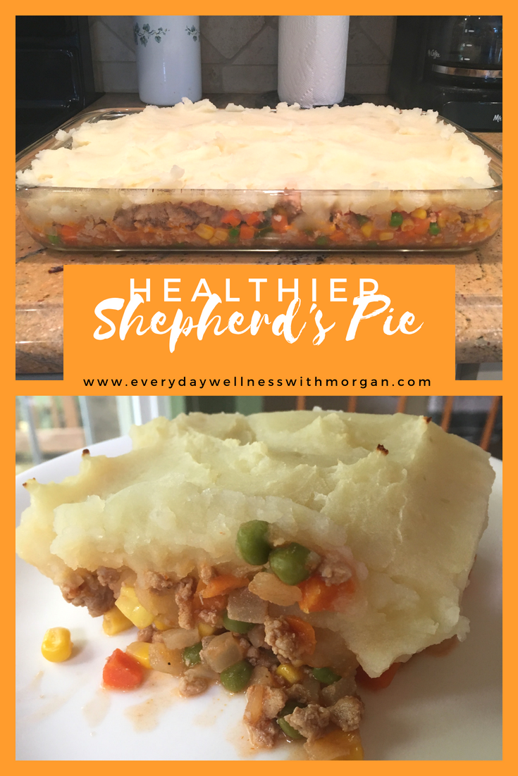 Healthier shepherd's pie recipe
