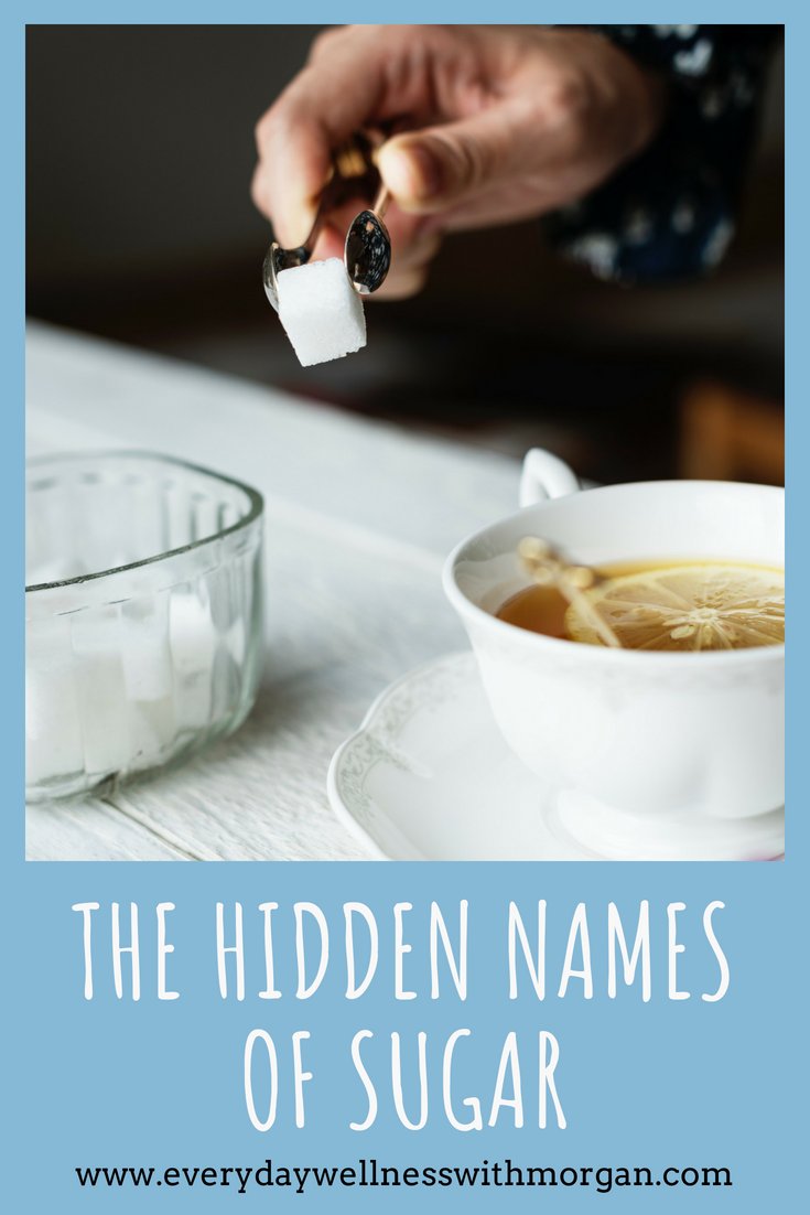 Learn the hidden names of sugar and healthier alternatives to try instead