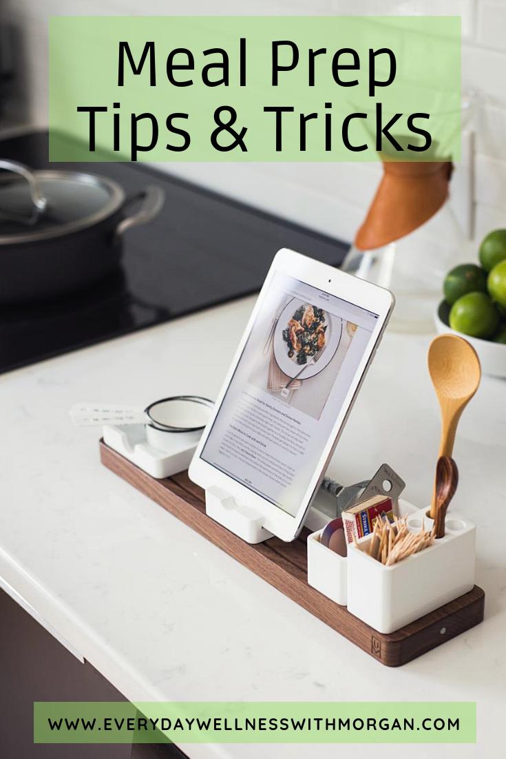 Meal Prep Tips & Tricks!