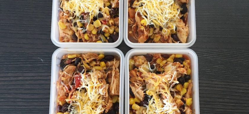 lower carb chicken burrito bowls