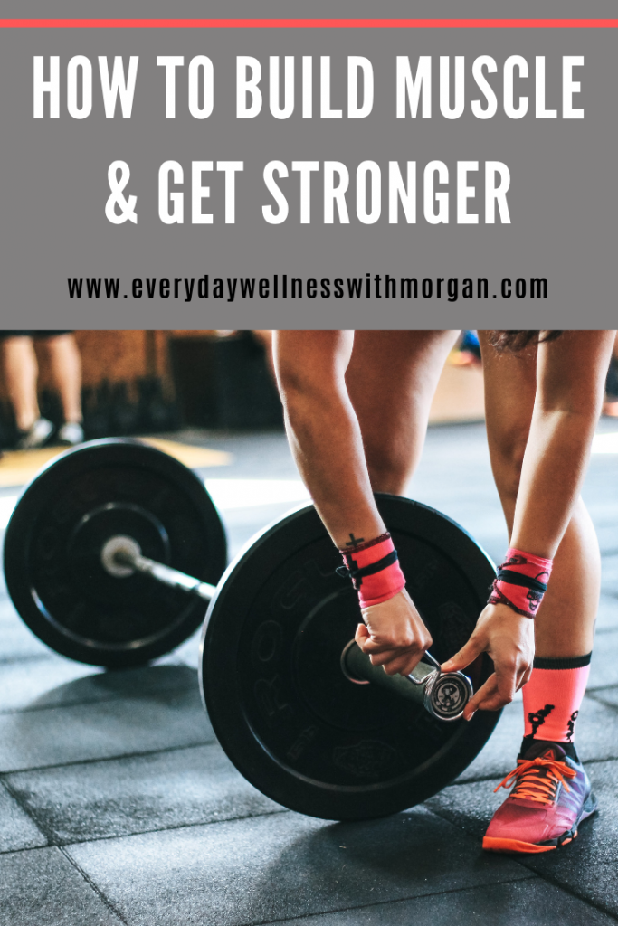 How to build muscle and get stronger in the gym